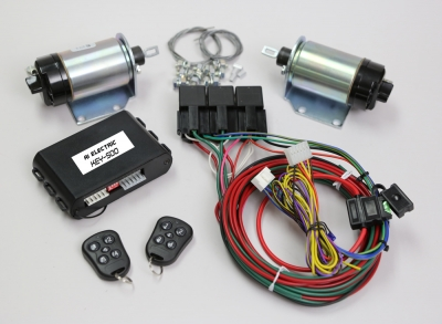 2 Door pop kit with 5 channel keyless entry & A1 Electric Online Store: 2 Door pop kit with 5 channel keyless entry