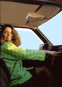 Girl using power windows