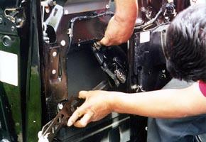 Step Drill Bit >> Chevrolet Astro, Power window installation