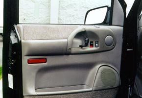 Finished Astro power windows