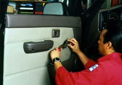 Toyota Tacoma Power Window Installation