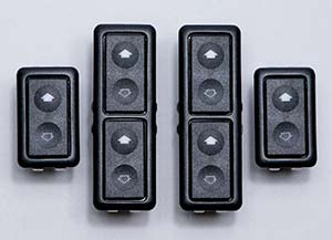 33040147x2 4 window switch kit for console mounting