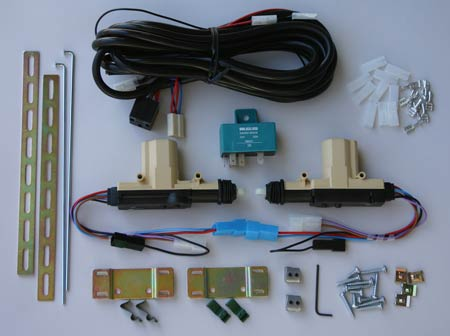 W01C Power door lock kit for cable actuated door locks & MES Swiss Made Power Door Lock Kits Pezcame.Com