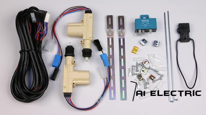 Photo of complete lock kit. & A1 Electric Online Store: 2 Door MES Central Door Lock Kit Pezcame.Com