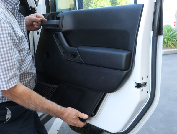 installing power windows in a jeep wranglerremoving door panel on 2011 2017 jk models