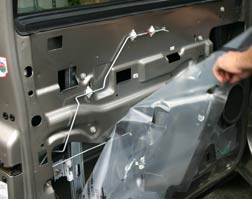 Installing Power Door Locks In A Toyota Tundra With Cable