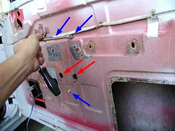 Installing Electric Life Power Windows In A 55 Chevy