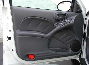Grand Am drivers door panel