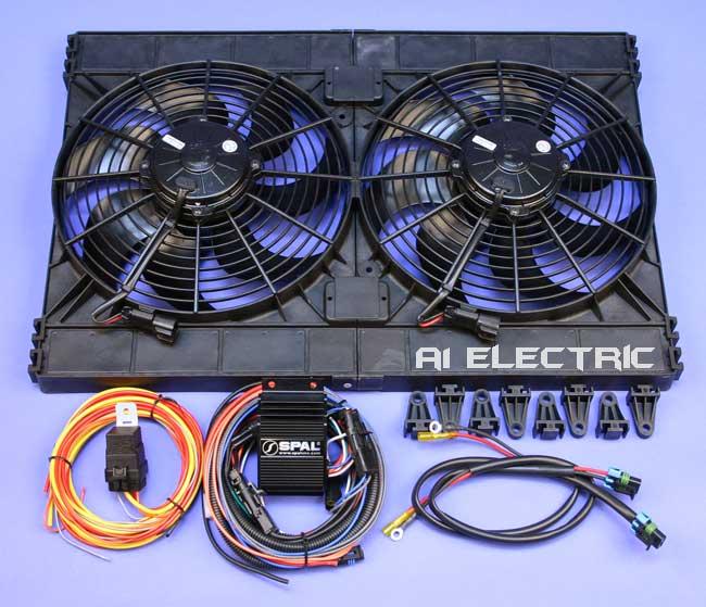 Twin Aux Cooling Fans