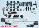 Spal Deluxe Power Window Kit with Switches 3300-0030-0188