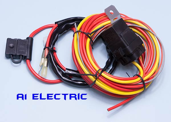 A1 Electric Online Store Fan Relay Amp Wiring Harness