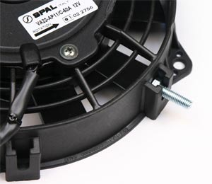 spal high performance cooling fans 30130011 bracket and strap mount