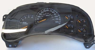 Speedometer repair page