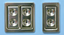 Click Here To See SK3-99021 Billet Aluminum switch kit.
